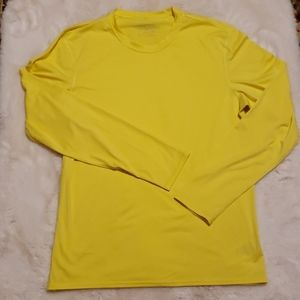 PATAGONIA Yellow Long Sleeve Shirt MD
